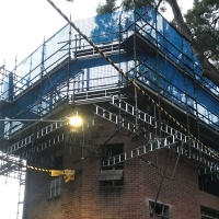 Third story addition of old electrical sub-station at Surry Hills