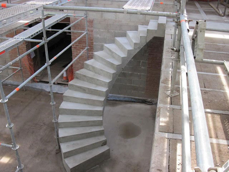 curved stair construction sydney