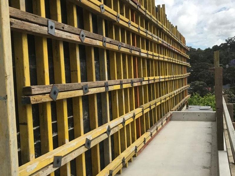 NS Formwork & Concrete - a Sydney formworking company  40+
