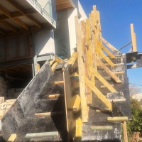 Concrete stair design and construction, Northern Beaches