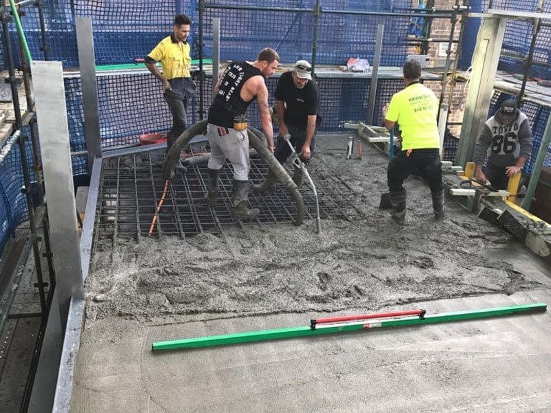 sydney concrete contracting