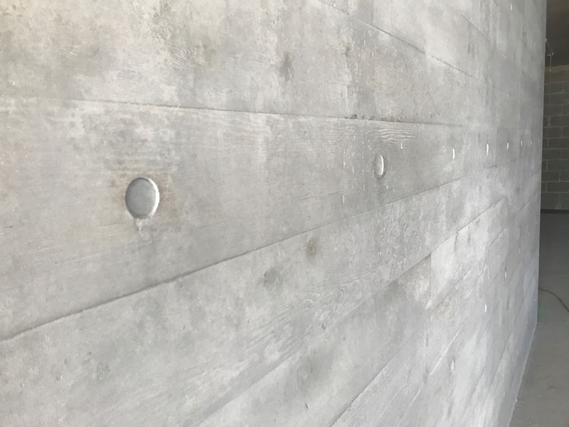 timber textured concrete